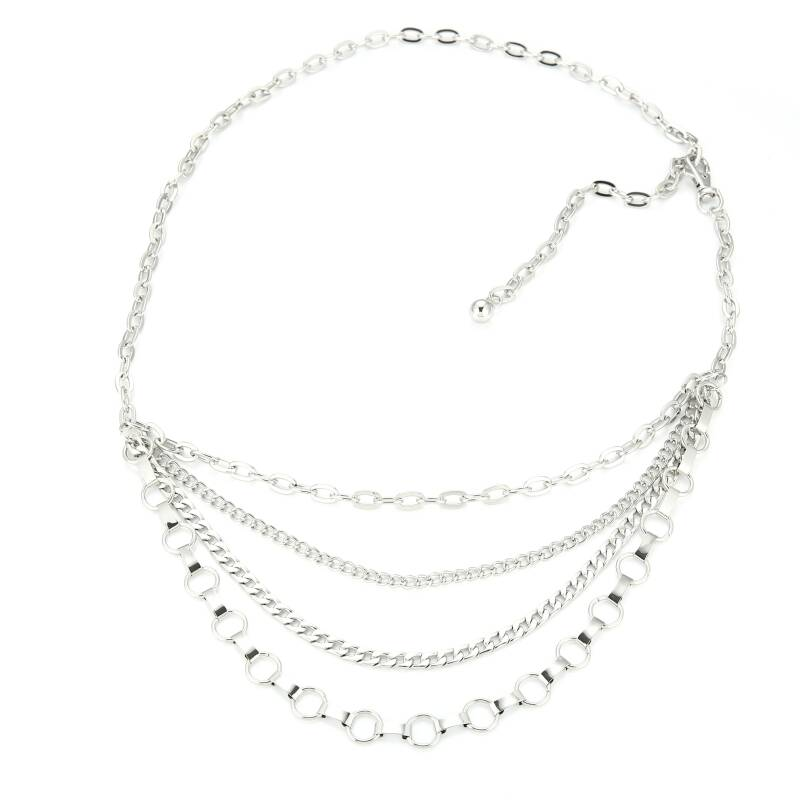 Heupketting Chains - zilver