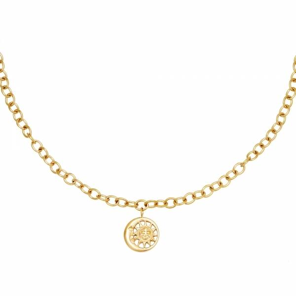 Ketting Moonlight chain - goud