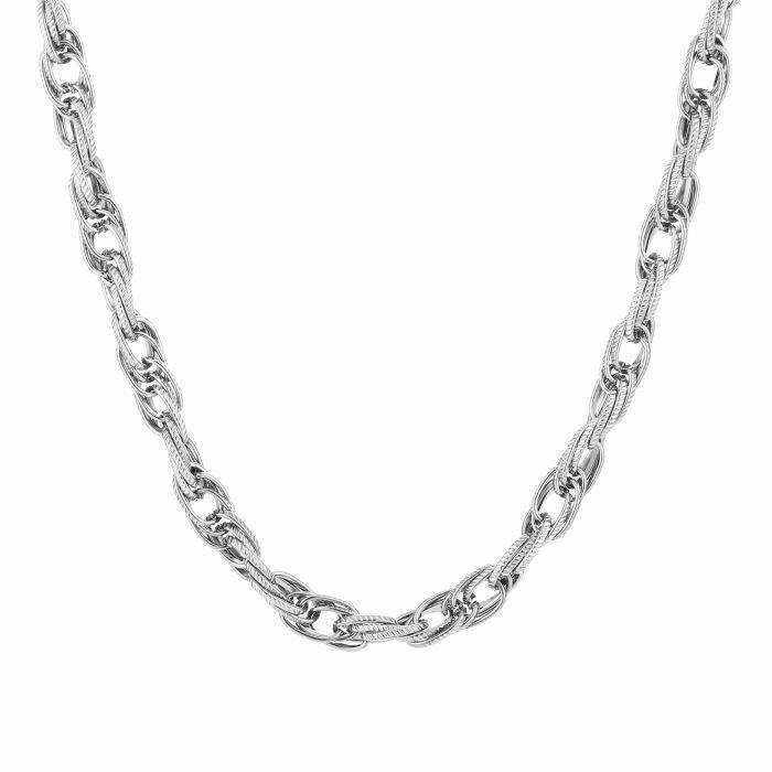 Ketting Twisted chain - zilver