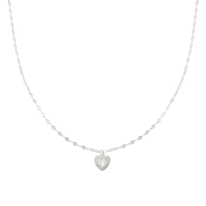 Ketting Endless love - zilver