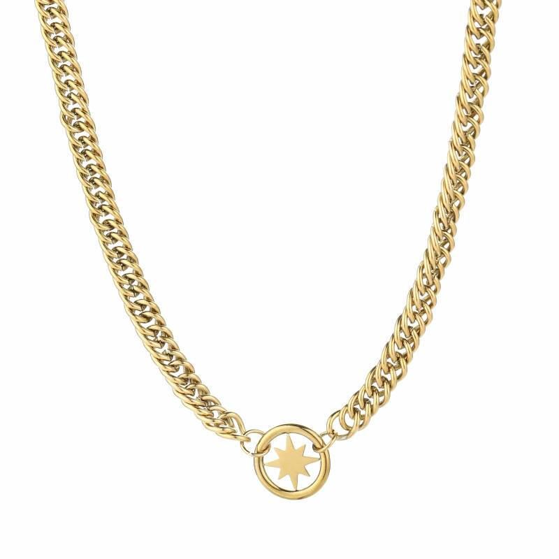 Ketting Chain morning star - goud