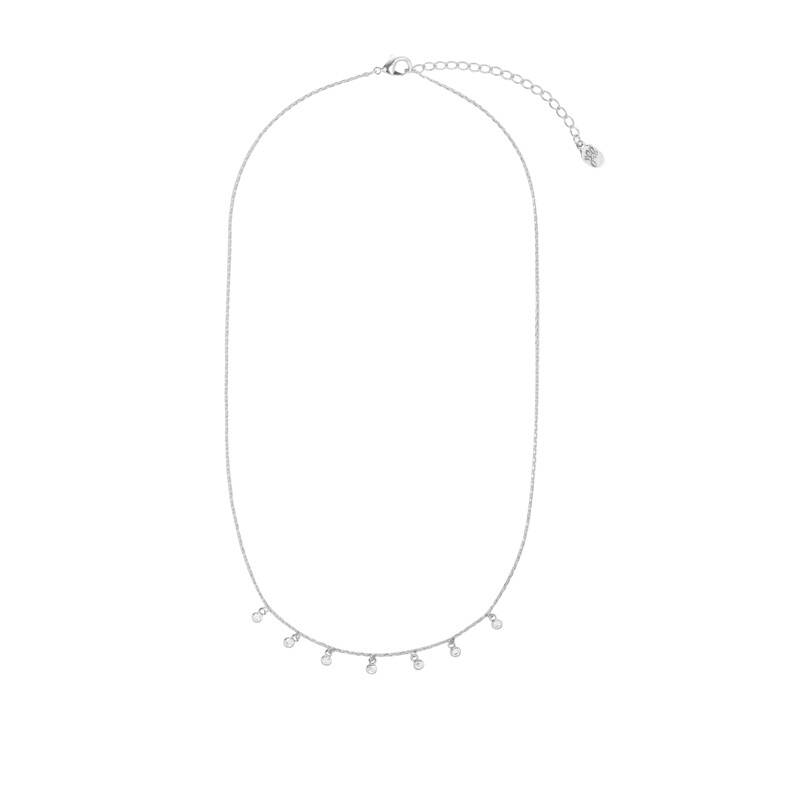 Ketting Tiny bling - zilver
