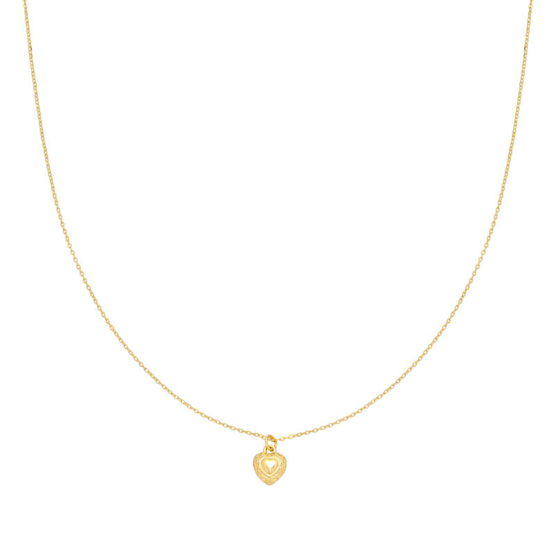 Ketting You have my heart - goud