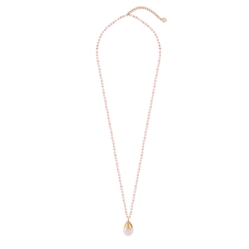 Ketting Your stone - roze