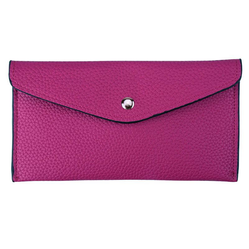 Purse envelope - fuchsia