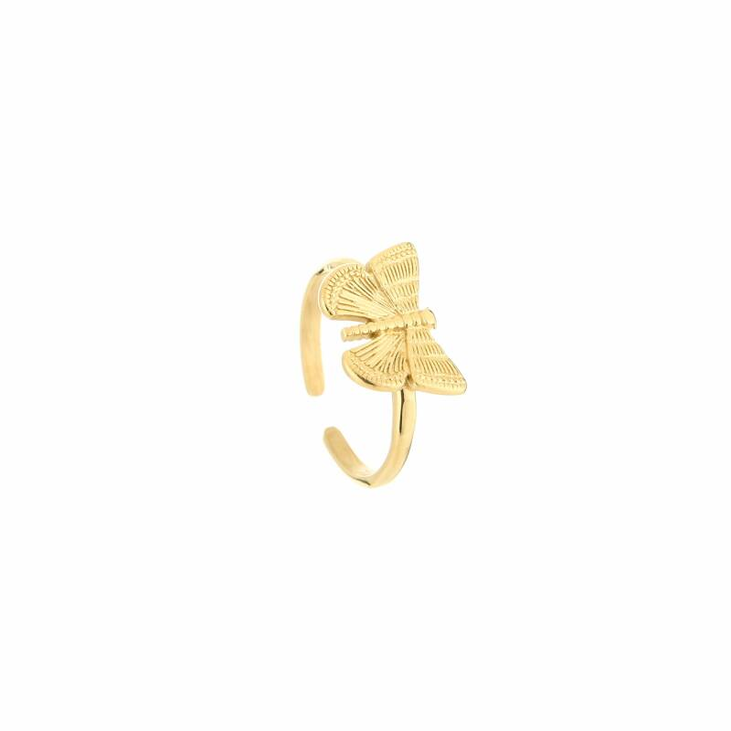 Ring Butterfly - goud
