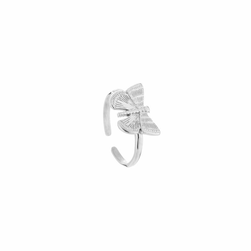 Ring Butterfly - zilver