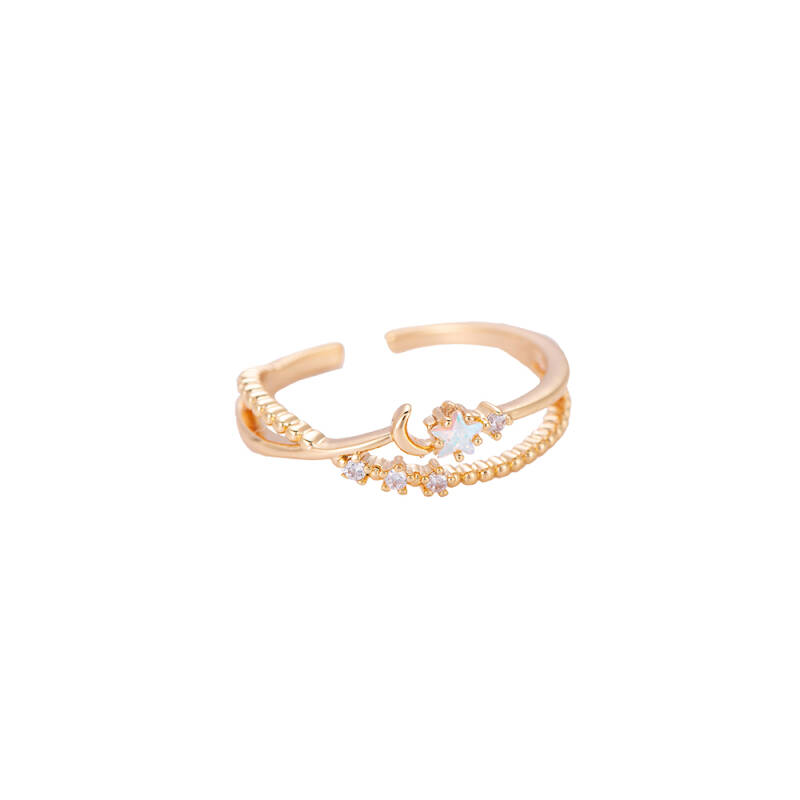 Ring Dream night - goud