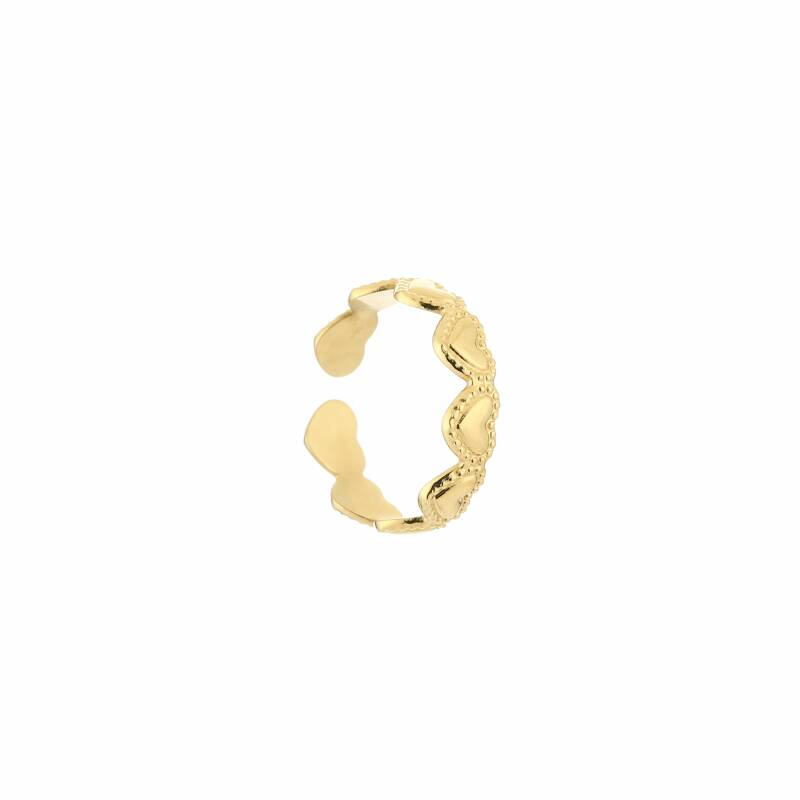 Ring hearts - goud
