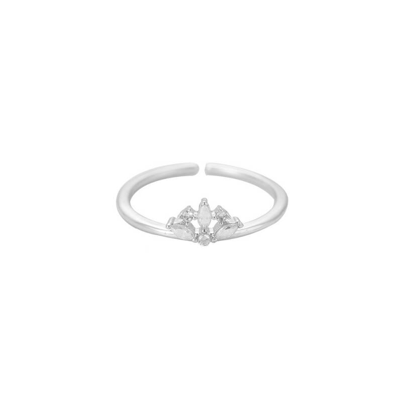 Ring Small crown - zilver