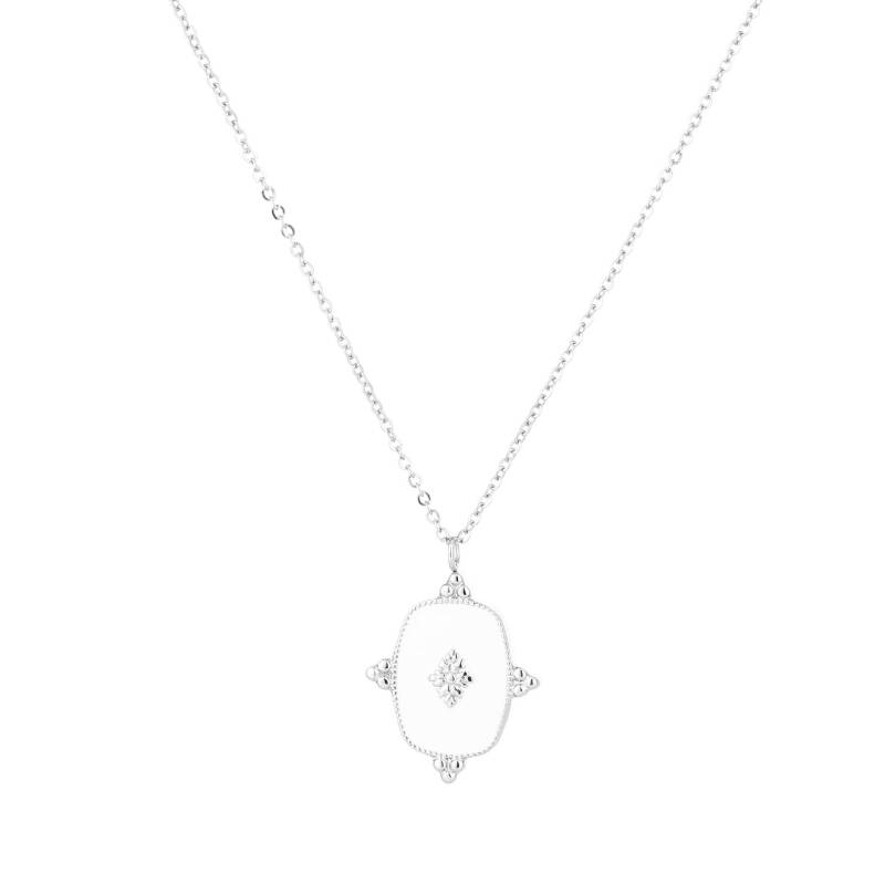 Ketting White - zilver