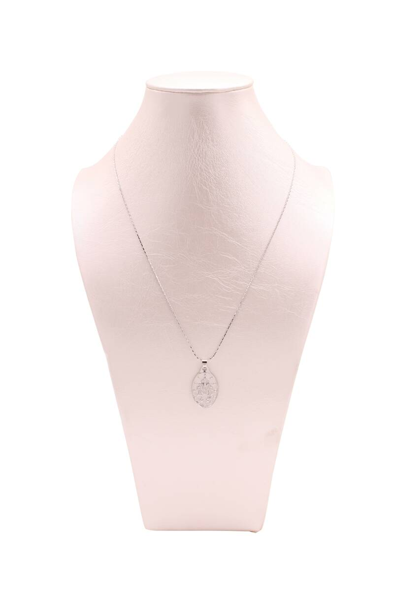 Ketting Mary - zilver