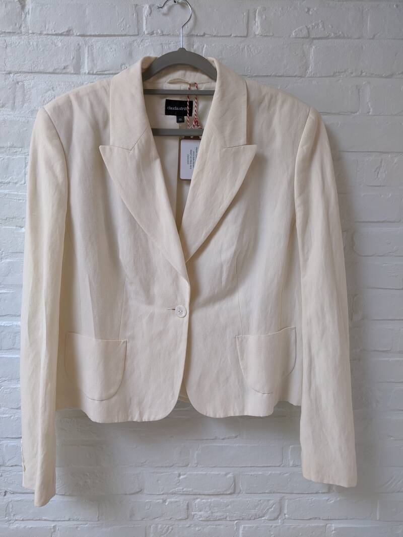 blazer CLAUDIA STRATER