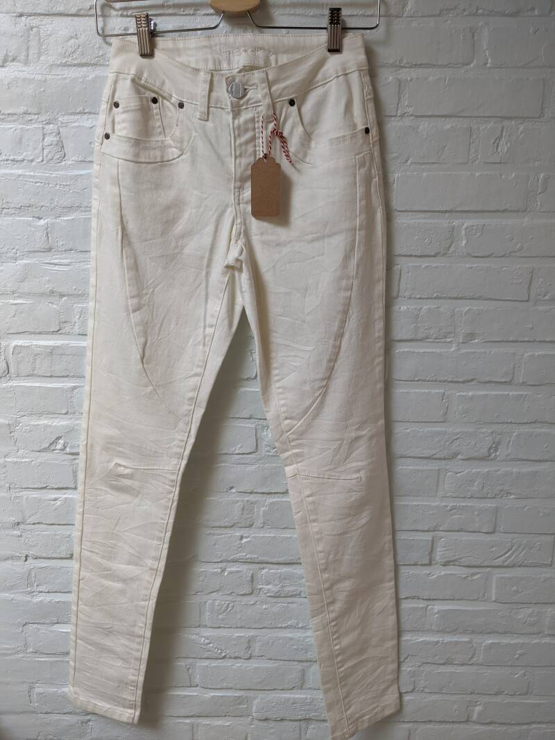 broek jeans PURE WHITE