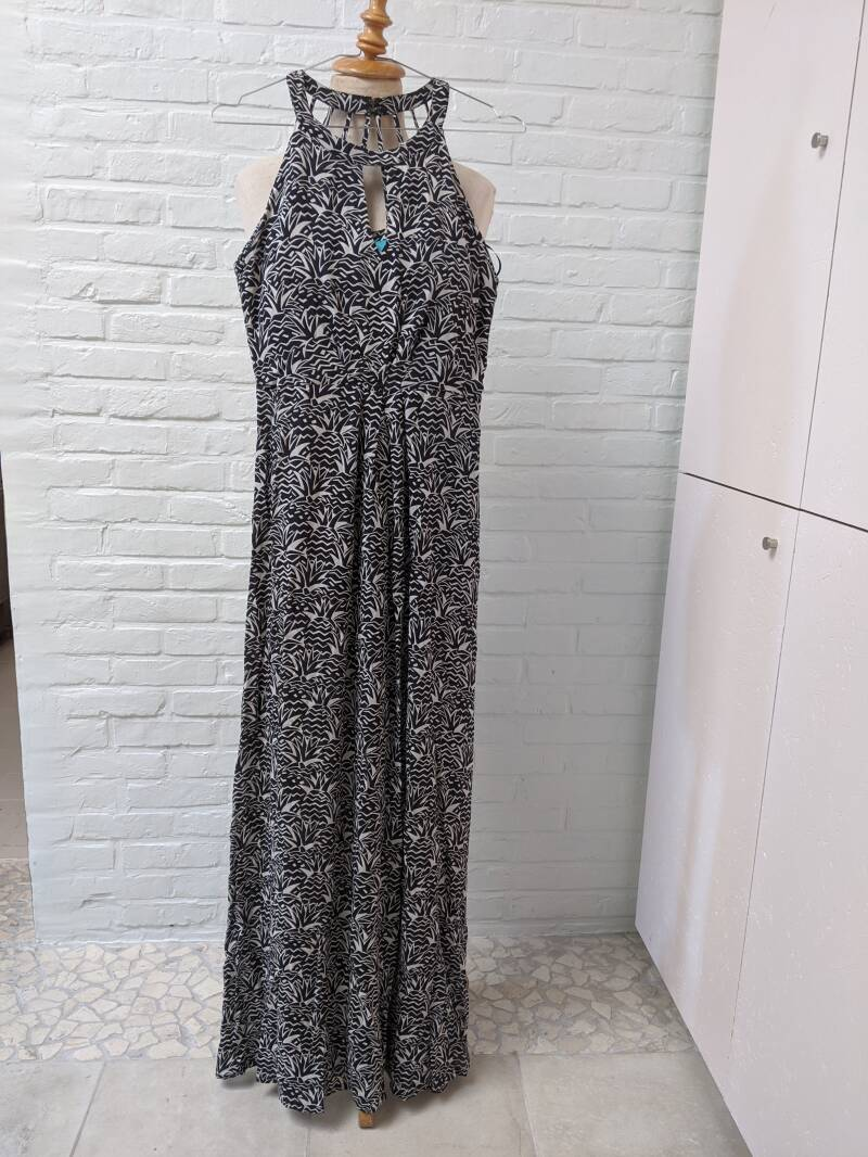 jurk maxi FEVER LONDON artikel 879