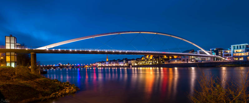 Maastricht Canvas Color 2020 (Blue Hour)