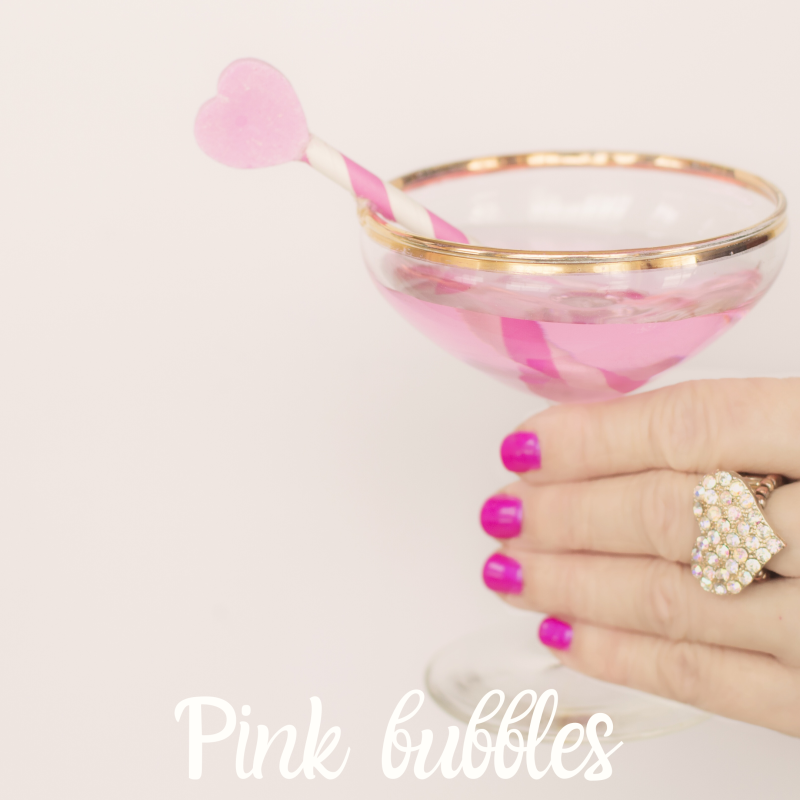 Pink bubbels