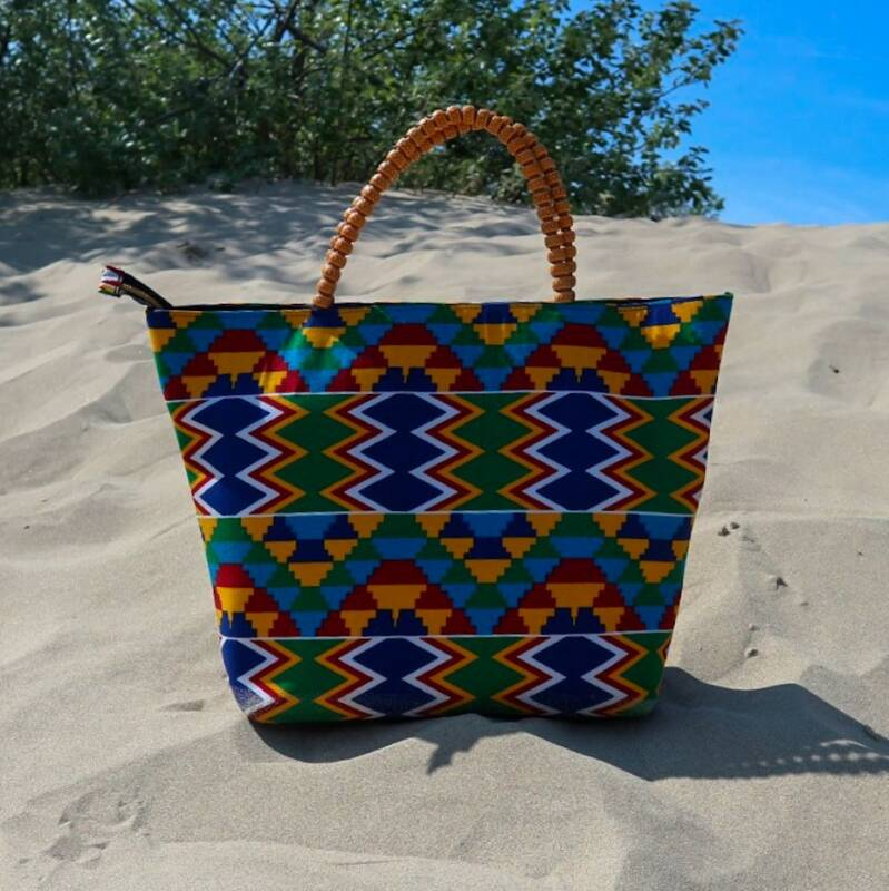 Handmade African bags Amare