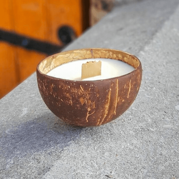 Handmade Coconut Soy Candle
