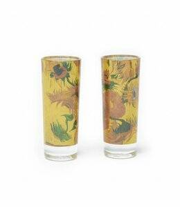 Van Gogh shot glass set Sunflower