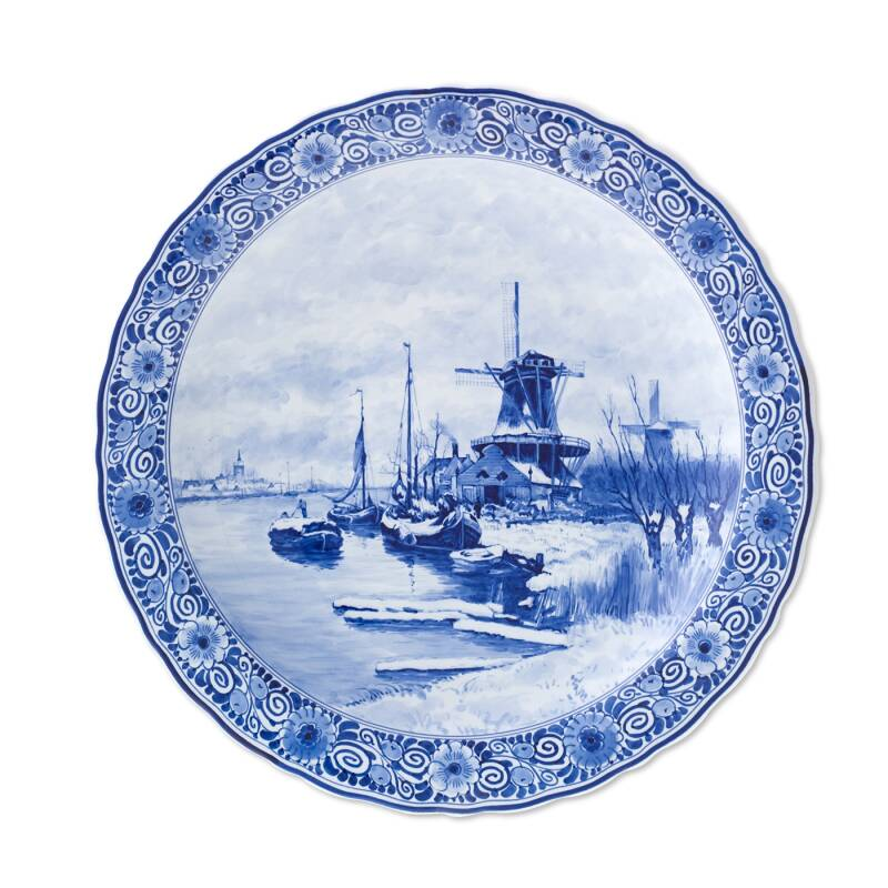 Plate- Royal Delft