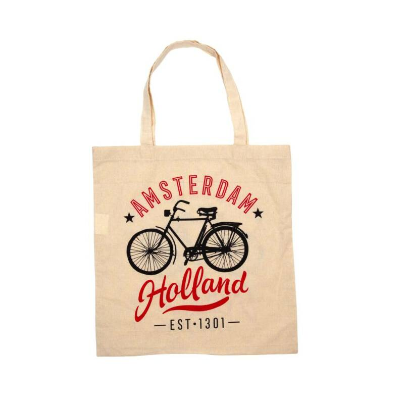 Cottonbag Amsterdam-Holland bicycle