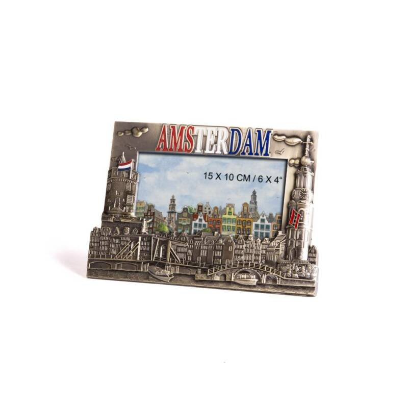 Metal picture frame Amsterdam bronze