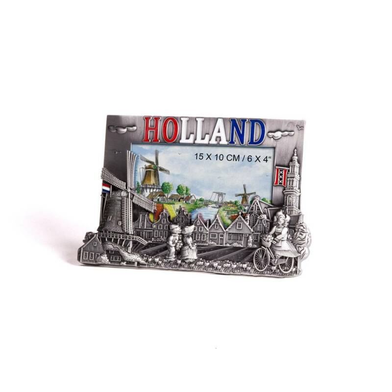 Metal picture frame Holland tin