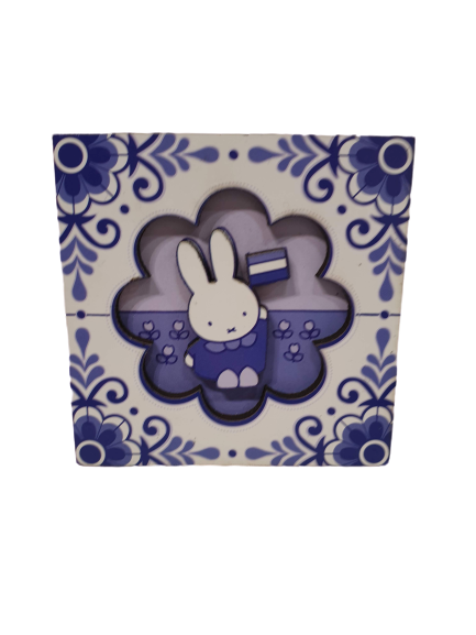 Magnet Miffy Delftblue