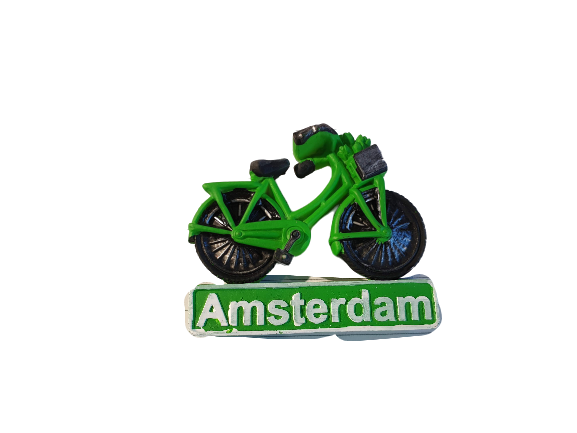 Magnet green bike