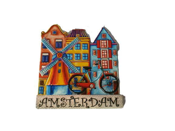 Magnet windmill bike and 3houses