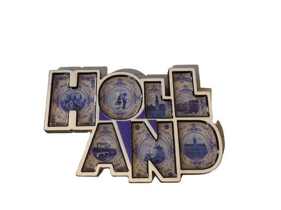 Magnet letters Holland DB