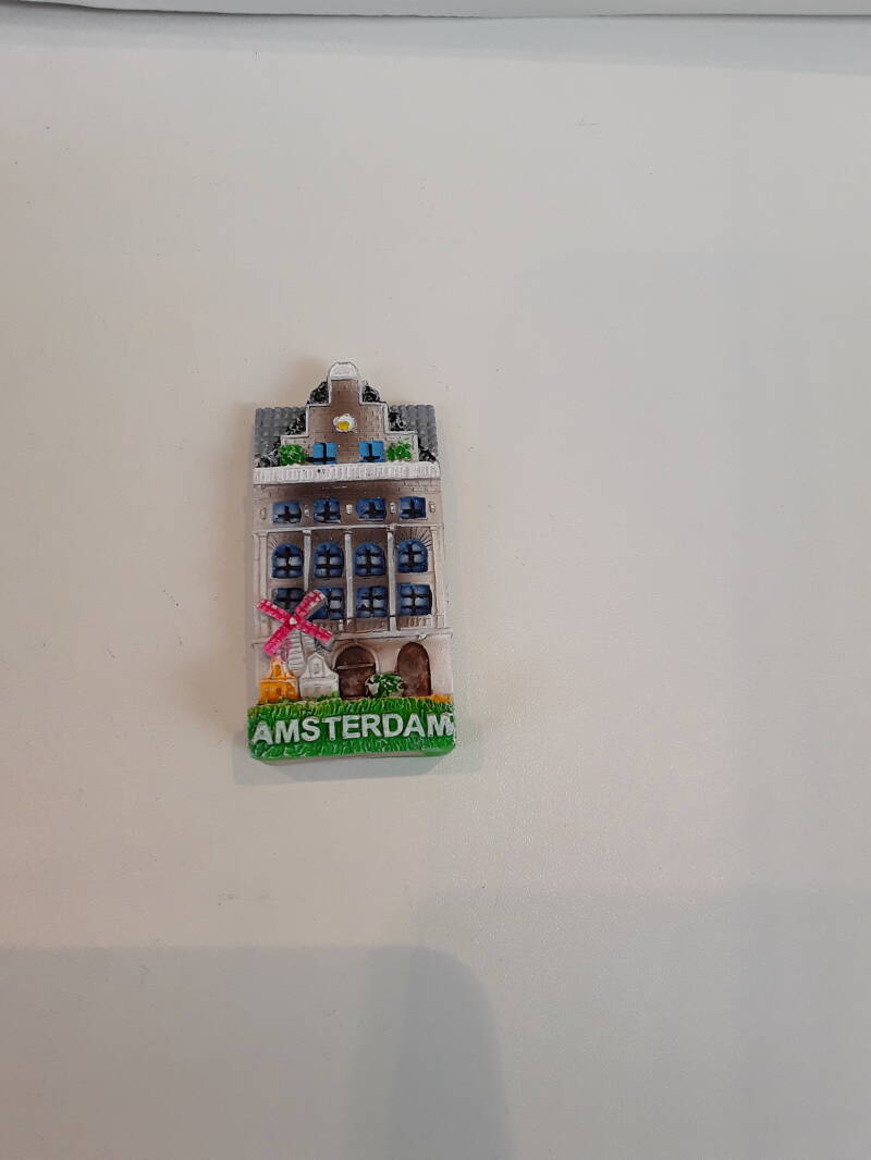 Magnet Amsterdam house -2 colors
