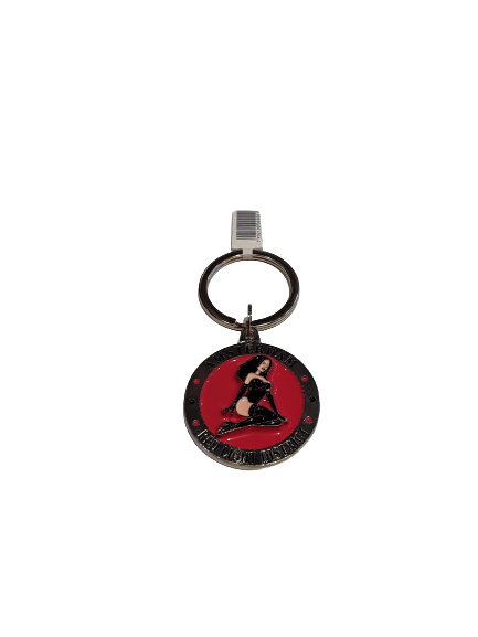 Red Light District Keychain