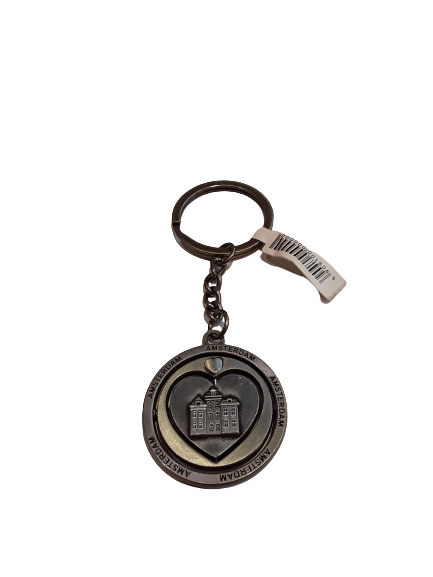 House Rolling Heart Keychain