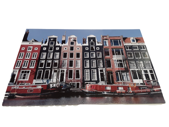 Canal Houses Amsterdam Picture