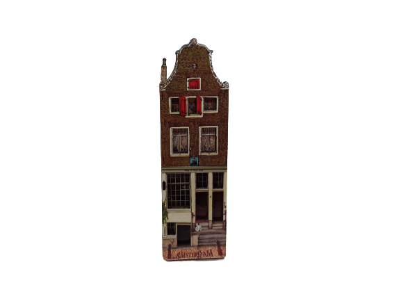 Amsterdam canal house magnet
