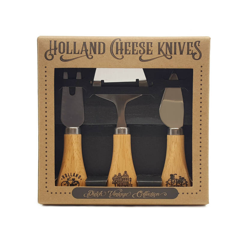 Giftpack cheese knives