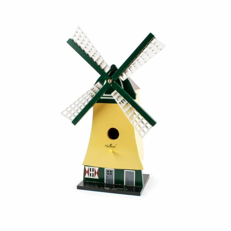 Birdhouse windmill