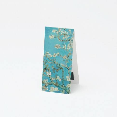 Van Gogh magnetic bookmark Almond Blossom