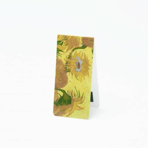Van Gogh magnetic bookmark Sunflower