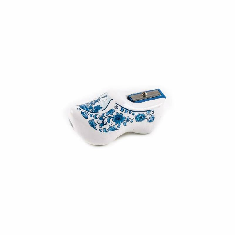 Pencil sharpener clog delftblue