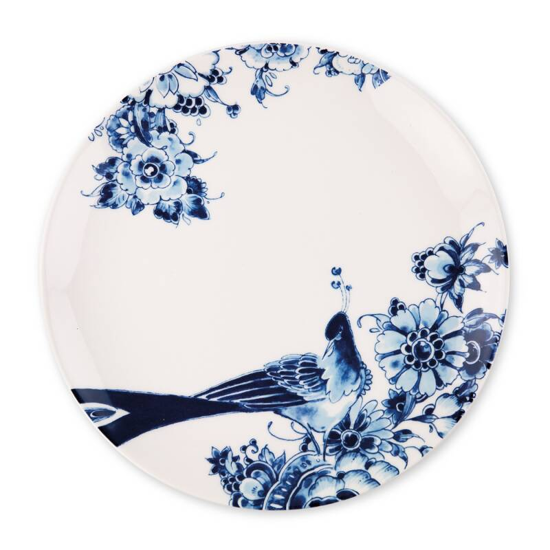 Peacock Symphony: Dinnerplate coupe