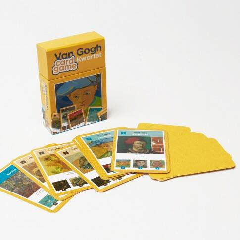 Van Gogh card game highlight