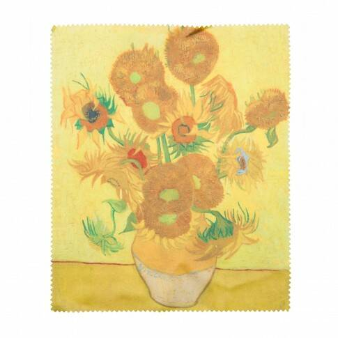 Van Gogh lens cloth Sunflower