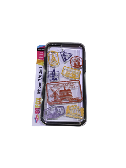 iPhone cover 7/8 2 in 1