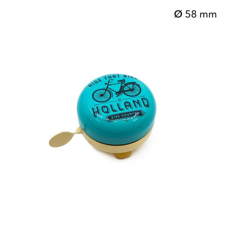 Bicycle bell green Ride that bike