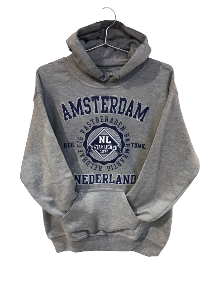 SALE sweater Amsterdam grey-blue