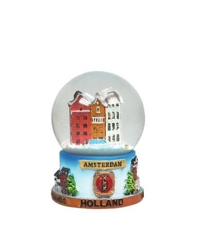 Snowglobe canal houses - 2 sizes