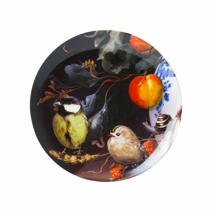 Plate: Great tit in Still life